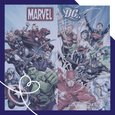 The Marvel & DC Universe