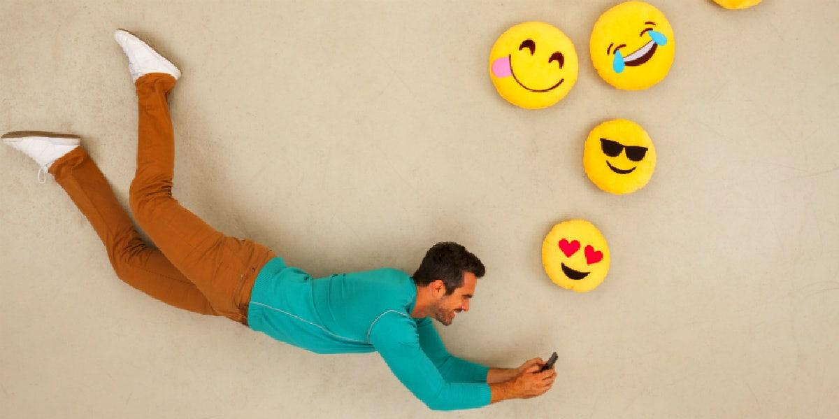 Tastatur emoji mit für lovoo Instagram symbol
