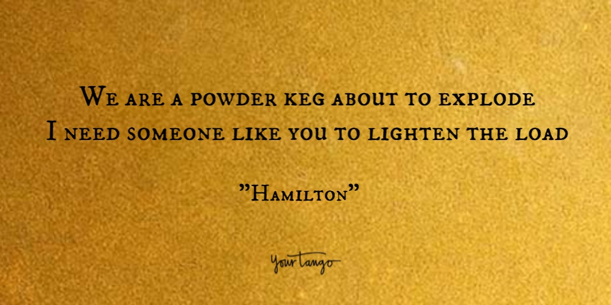Hamilton Song List 42 Quotes From Lin Manuel Miranda S Lyrics With Images Yourtango