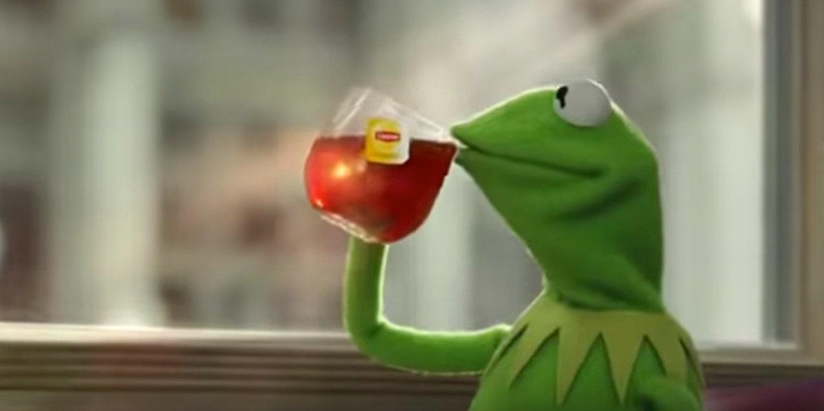 The Kermit Tea Meme History Meaning Explained Yourtango