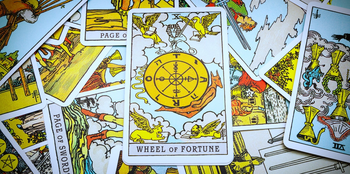 Wheel Of Fortune Tarot Card Meanings Upright Reversed Love Yourtango