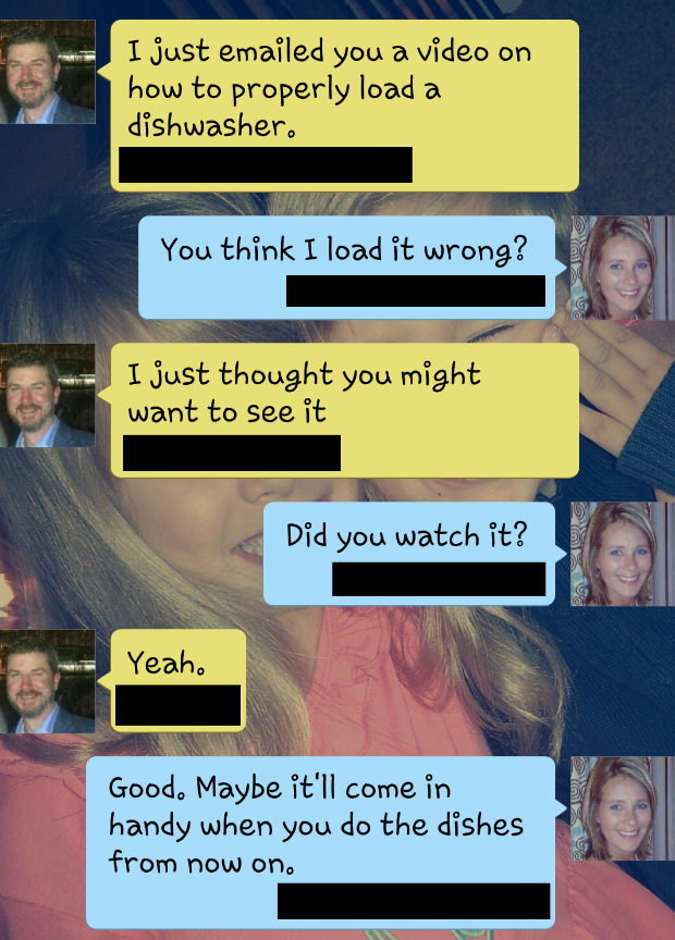 10 Funny Texts I've Sent My Husband That Sum Up Being A Wife