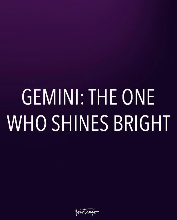 gemini zodiac signs in one sentence