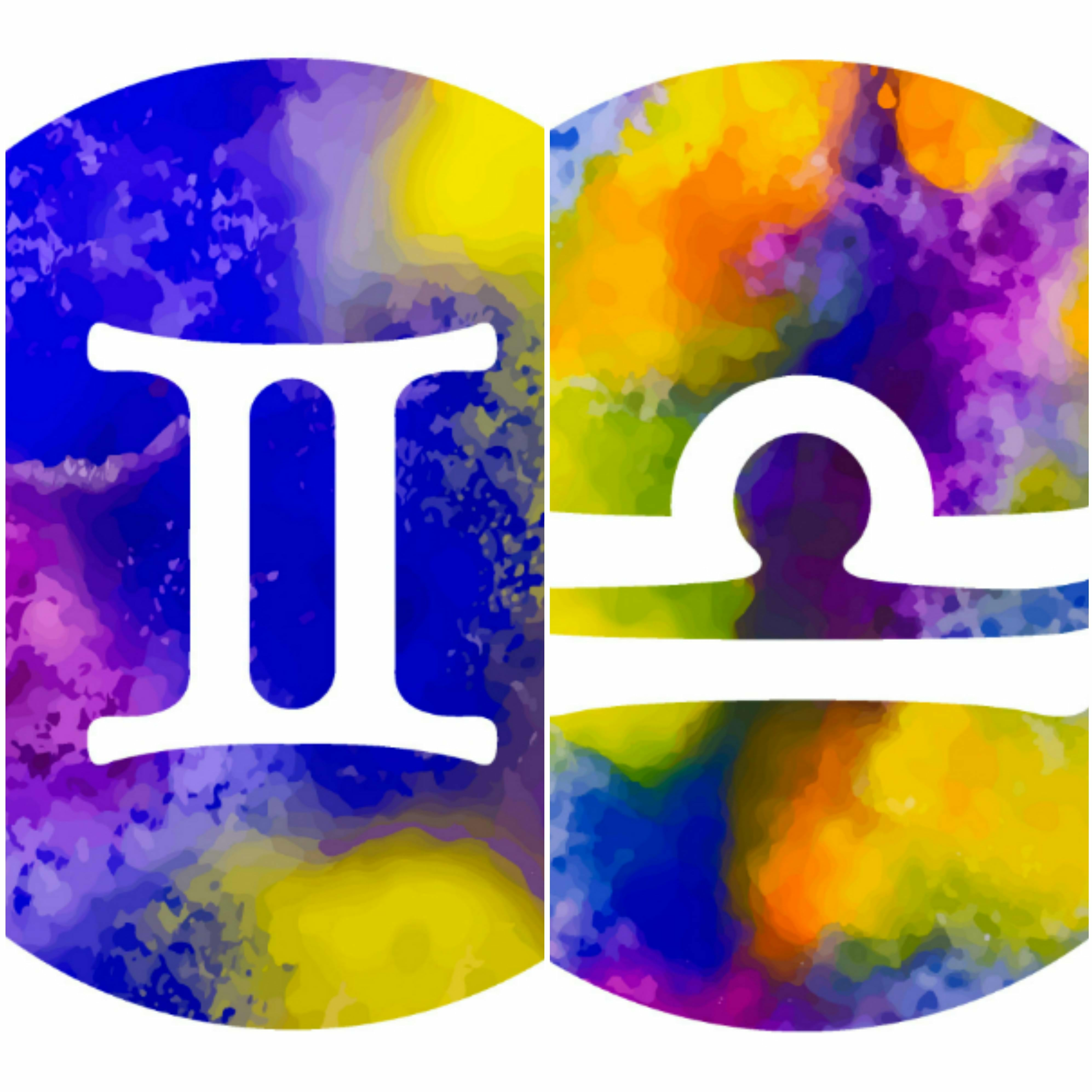 gemini libra zodiac sign twins