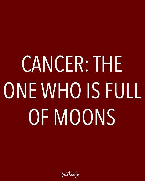 cancer zodiac signs in one sentence