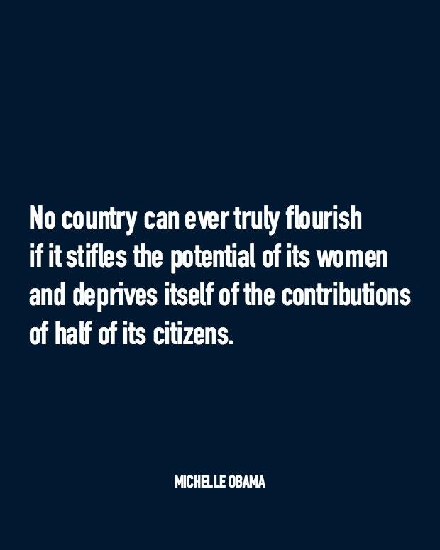 Michelle Obama FLOTUS Women Quotes