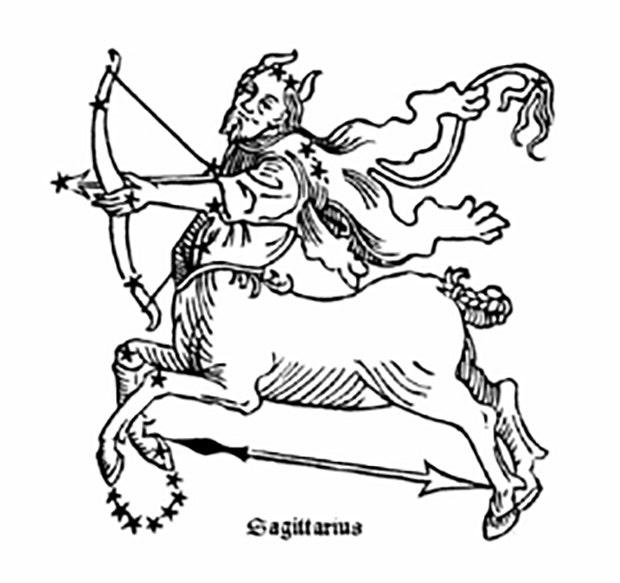 Sagittarius zodiac sign depression hard times