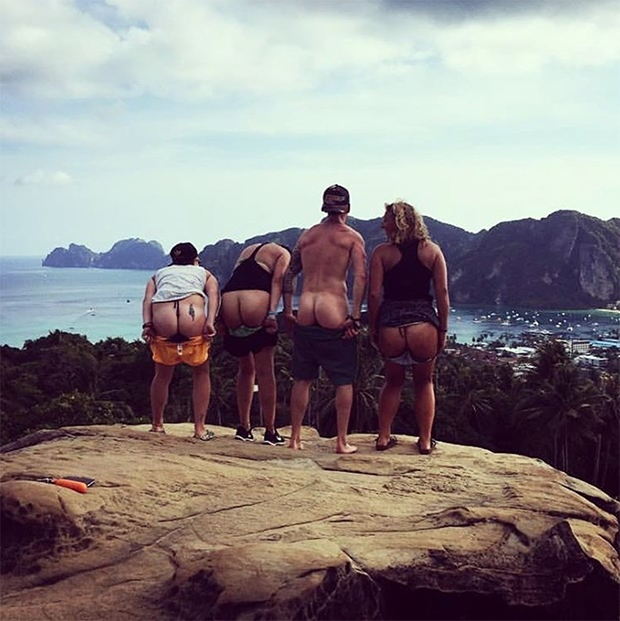 Butt Pics With Friends
