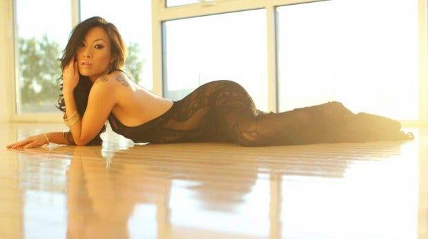 Asa Akira sexy butt photo
