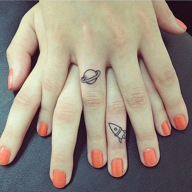 Best friends matching tattoos