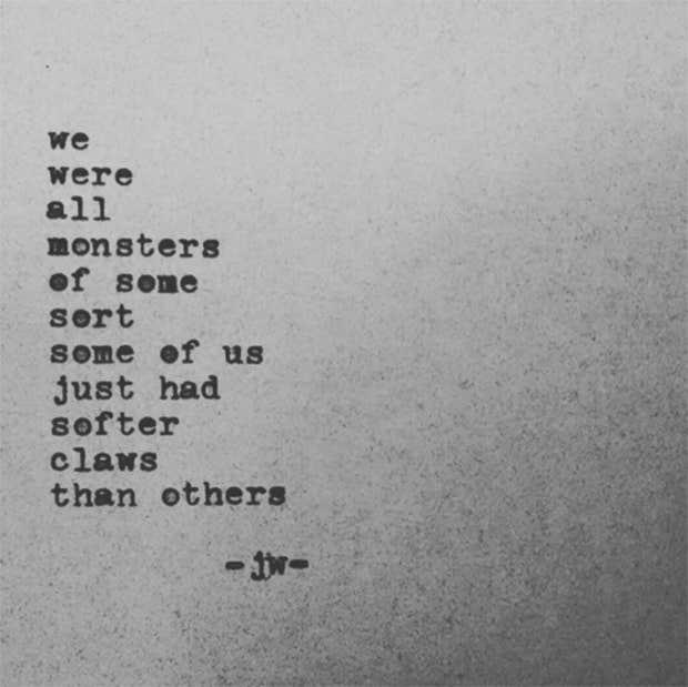 Jarod Wabick Instagram Poetry Love Yourself Quotes