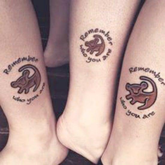 Disney best friends tattoos