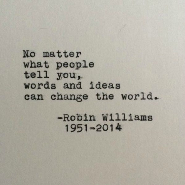 Robin Williams Quotes Mental Health Grief And Loss