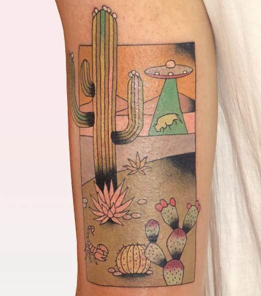 japanese woodblock tattoos ideas