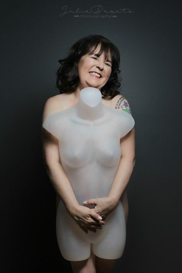 nude photo women mannequin series body image