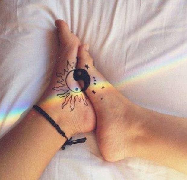 couples tattoos matching tattoos
