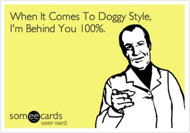 Hilarious Memes About Doggy Style