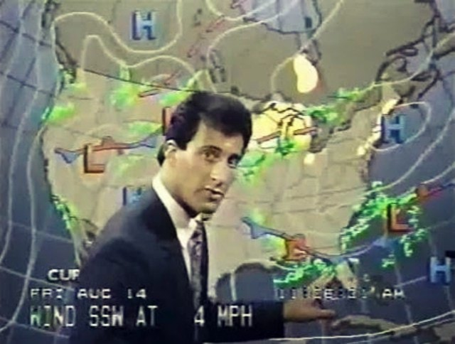 Jim Cantore with hair