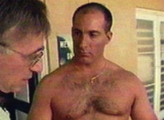 Shirtless Jim Cantore