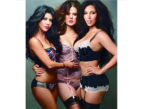 Kardashian almost nude