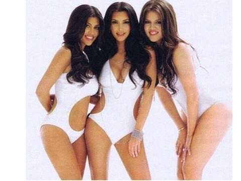 Kardashian sisters sexy