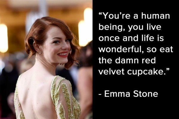 emma stone Inspiring Quote About Life