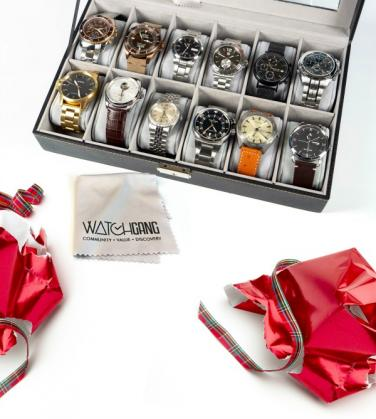 2f33694a2e46 A Watch Gang membership will send dad a curated timepiece every month from  both well known and craft brands to keep and build a collection with.