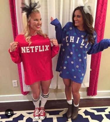 netflix and chill halloween costume sc 1 st yourtango