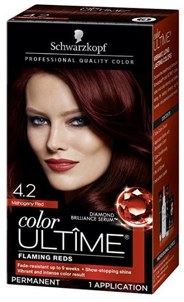 Ultime Hair Color Cream In Wine Red By Schwarzkopf