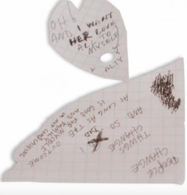 What Does The Note Say In Xxxtentacions Official Video For Sad