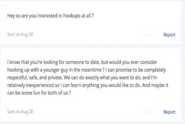 messages on dating sites
