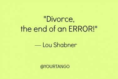 funny divorce quotes for him
