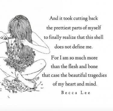 Image of: Fitness Becca Lee Instagram Quotes Selfesteem Love Yourself Yourtango 15 Instagram Quotes By Poet Becca Lee On Loving Yourself Yourtango