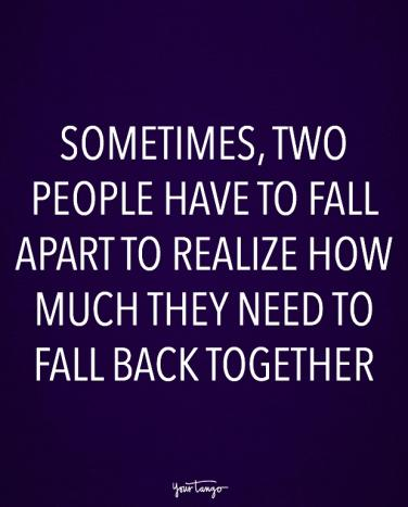 Quotes about being apart but together