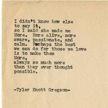 30 Love Poems By Tyler Knott Gregson Are Super Inspiring Yourtango