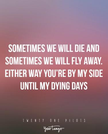 25 Best Twenty One Pilots Quotes And Song Lyrics About Life And Love