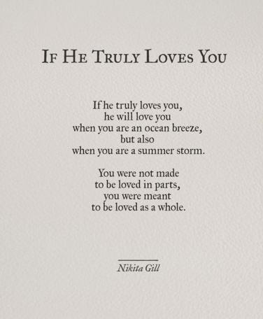 60 Empowering Nikita Gill Quotes For EVERY Woman YourTango Cool When A Man Loves A Woman Quotes