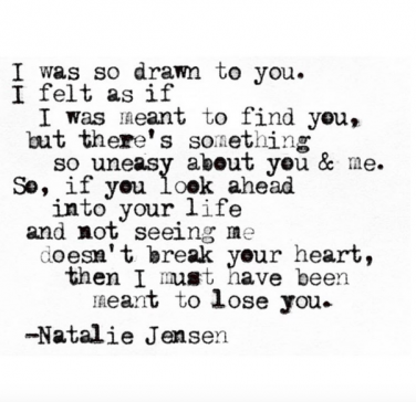 10 Instagram Quotes About Moving On From Poet Natalie Jensen Yourtango