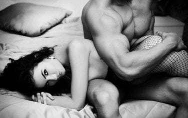 Erotic spanking sex