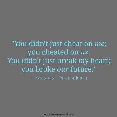 if you cheat someone quotes