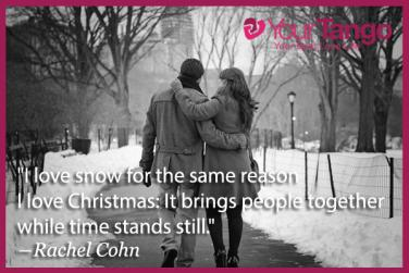 tis the season for love christmas quotes to keep you merry yourtango jpg 376x251 quotes snow - Christmas Love Quotes
