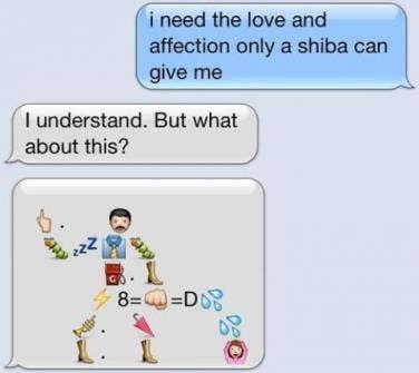 Flirty emoji texts