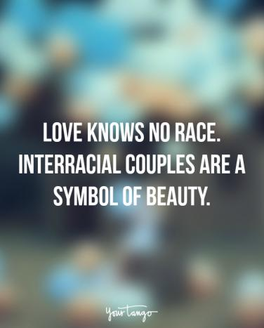 Racial dating quotes