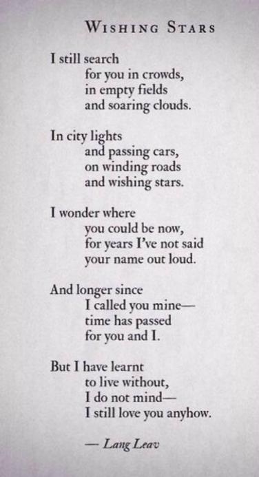 Poems about love for her from him