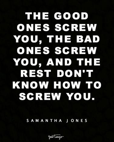 Love Jones Quotes Delectable 48 Sex And The City Quotes By Samantha Jones Are Still Incredibly