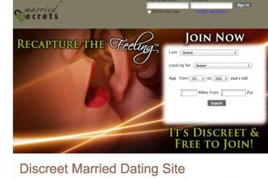 Free dating site for affairs