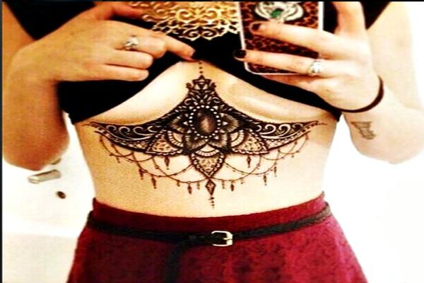 Sternum Tattoo.