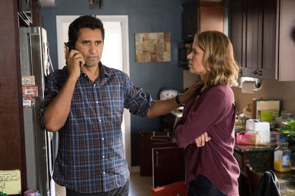 Cliff Curtis and Kim Dickens from Fear the Walking Dead