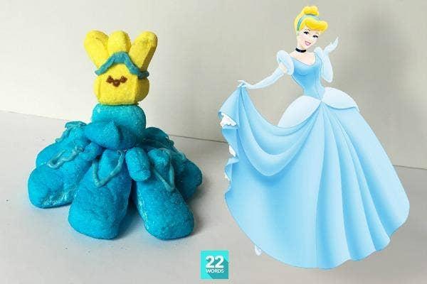 Peep Cinderella.