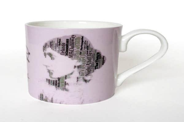 Feminist gifts: Virginia Woolf mug
